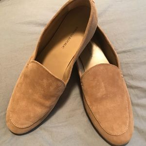 Banana Republic suede slip-on shoes